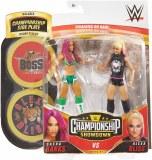 WWE Championship Showdown S1 Sasha Banks vs Alexa Bliss Action Figure 2 Pack