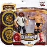 WWE Championship Showdown S5 Stone Cold Steve Austin vs Mankind Action Figure 2 Pack