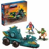 Masters of the Universe Mega Construx Battle Ram w/ Mekaneck and Tri-Klops Set