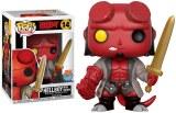 POP Comics Hellboy Hellboy with Excalibur PX Vinyl Fig