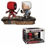 POP Marvel Comic Moments Deadpool vs Cable Vinyl Figure