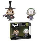 VYNL Nightmare Before Christmas The Mayor & Barrel Vinyl Figure 2-Pack