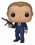 POP Movies 007 Quantum of Solace James Bond Daniel Craig Vinyl Figure