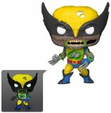 POP Marvel Zombies Wolverine Glow-in-the-Dark Pop! Vinyl Figure