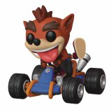 POP Rides Crash Team Racing Crash Bandicoot Vinyl Figure