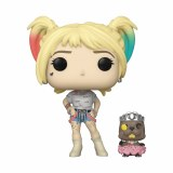 POP DC Heroes Birds of Prey Movie Harley Quinn w/ Beaver Entertainment Earth Exclusive w/ Trading Card