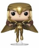 POP DC Heroes Wonder Woman 84 Golden Armor Wonder Woman Flying Vinyl Figure