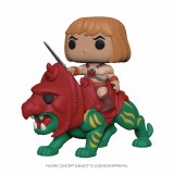 POP TV Masters of the Universe Rides He-Man on Battle Cat Vinyl Figure
