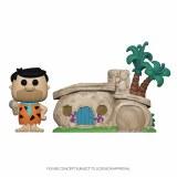 POP Animation Town Flintstones Fred with Flintstones Home Vinyl Figure Set