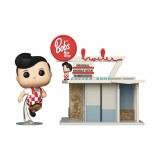POP Town Bobs Big Boy Restaurant w/ Big Boy Vinyl Figure