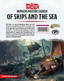 Dungeons and Dragons Of Ships at the Sea DM Screen