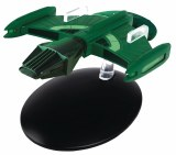 Star Trek Starships Fig Mag #123 Romulan Science Vessel