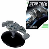 Star Trek Starships Fig Mag #73 Renegade Borg Vessel