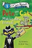 I Can Read Comics Level 1 HC Pete the Cat Making New Friends