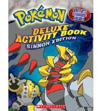 Pokemon Deluxe Activity Book Sinnoh Edition