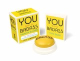 You Are A Badass Button and Illustrated Book Set
