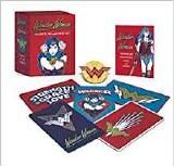 Wonder Woman Magents Pin and Book Set
