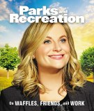 Parks and Recreation On Waffles Friends and Work Mini HC