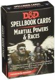 Dungeons & Dragons Spellbook Cards Martial Powers & Races