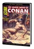 Savage Sword of Conan Original Marvel Years Omnibus HC Vol 04 DM Variant