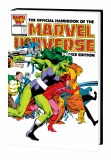 Official Handbook of the Marvel Universe Deluxe Edition Omnibus HC Byrne Cvr