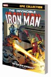 Iron Man Epic Collection TP Vol 01 Golden Avenger New Ptg