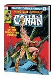 Conan the Barbarian Original Marvel Years Omnibus HC Vol 05 DM Variant