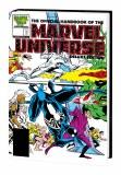 Official Handbook Marvel Universe Dlx Ed Omnibus HC Frenz DM Variant