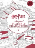Harry Potter: Magical Places & Characters Postcard Coloring Book