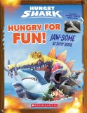 Hungry for Fun Hungry Shark Activity Book with Shark Tooth Necklace Jaw-Some Activity Book