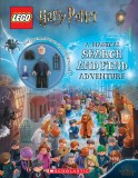 LEGO Harry Potter A Magical Search and Find Adventure Activity book with Snape Minifigure