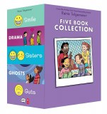 Raina Telgemeier Collection Box Set Smile, Drama, Sisters, Ghosts, Guts