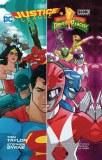 Justice League Power Rangers TP
