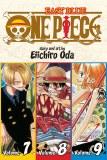 One Piece 3-in-1 Vol 03 vols 7-8-9