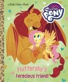 My Little Pony Fluttershys Ferocious Friend Little Golden Book