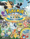 Pokemon Epic Sticker Collection From Kanto to Alola