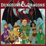 Dungeons & Dragons Animated 2022 16 Month Wall Calendar