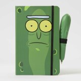 Rick and Morty Pickle Rick Hardcover Journal