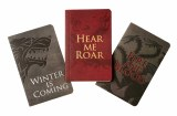 Game of Thrones House Words 3-Pack Mini Journals