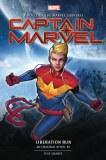Captain Marvel Liberation Run Novel HC