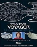 Star Trek U.S.S. Voyager NCC-74656 Illustrated Handbook Captain Janeway's Ship
