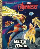 Avengers Battle On Moon Little Golden Book