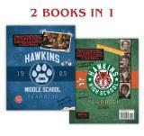 Stranger Things Hawkins 1985 Middle School High School Yearbook