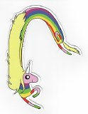 Adventure Time Lady Rainicorn Sticker