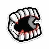 Bloody Chompers Sticker