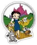 Betty Boop Oz Sticker