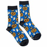 Cat and Ghoul Socks