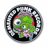 Demented Punk Records Pin