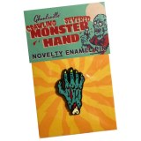 Crawling Severed Monster Hand Enamel Pin