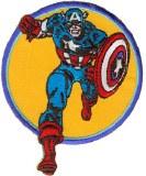 Marvel Retro Captain America Run (Retro) Patch